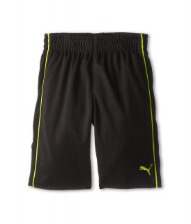 Puma Kids Piped Short Boys Shorts (Black)