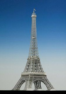 1/1000 Eiffel Tower (Plastic model) Toys & Games