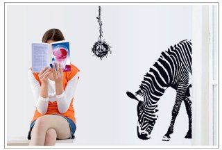 Zebra Animal Children Nursery Kids Room Wall Art Murals Stickers Home Decor Decal