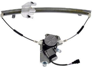 Dorman 748 574 Jeep Liberty Passenger Side Front Power Window Regulator with Motor Automotive