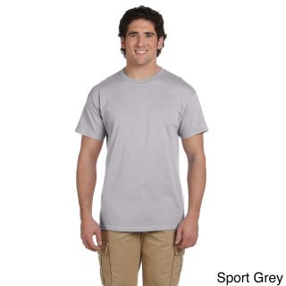 Gildan Gildan Mens Ultra Cotton Tall Short Sleeve T shirt Grey Size XXL