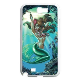 FashionFollower Personalized Classical Cartoon Series Little Mermaid Attractive Phone Case Suitable For Samsung Galaxy Note 2 NoteWN31222 Cell Phones & Accessories