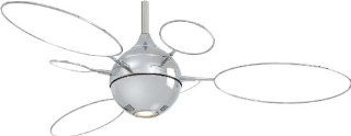 Minka Aire F596 PN/TL Cirque 54 in. Indoor Ceiling Fan   Polished Nickel   Cirque Ceiling Fan With Light
