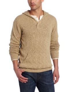 Lucky Brand Men's Slub Pullover Sweater, Twill, Small at  Men�s Clothing store