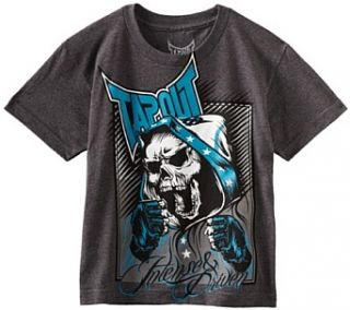 Tapout Boys 8 20 Top Contender Short Sleeve Tee, Grey, Small 8 Fashion T Shirts Clothing