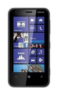Nokia Lumia 620 3G, 5MP, Windows 8, Dual Core Factory Unlocked World Mobile Phone   Black   International Version Cell Phones & Accessories