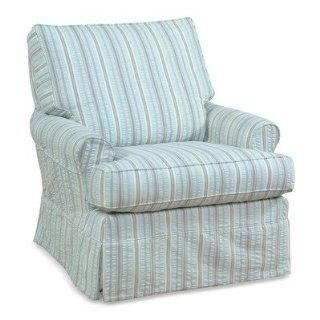 Acadia Furnishings AC45XLG Yarmouth Extra Large Slipcovered Swivel Glider Baby