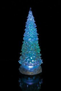 "LED Lighted Christmas Tree Holiday Decoration 10.5""H"