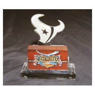NFL Houston Texans Business Card Holder in Gift Box Sports & Outdoors