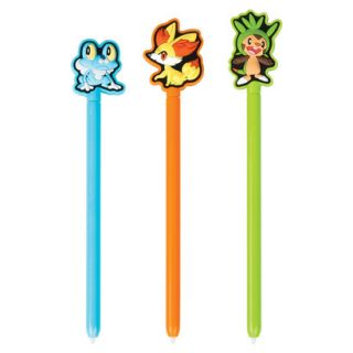 Power A Pokémon Triple Play Stylus Kit   Blue/Or