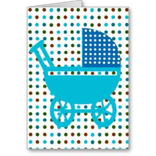 Baby Carriage Gifts Greeting Cards
