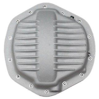 "PML Rear Differential Cover for Dodge/GM Trucks   AAM 11 /12"" Ring Gear, 14 Bolt   Cast Aluminum Finish Automotive"