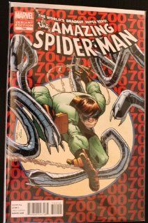 The Amazing Spider Man #700 Rare 2nd Print Variant Cover Edition / Death of Spider Man
