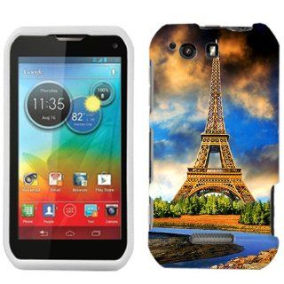 Motorola Photon Q Eiffel Tower Art Phone Case Cover Cell Phones & Accessories