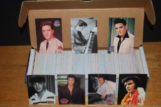 Elvis Presley Complete Trading Card Set (660 Cards) (Produced by the River Group in 1992) (The Cards of His Life)  Sports Related Trading Cards  Sports & Outdoors
