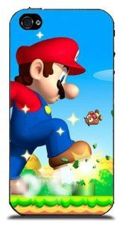 CoverMonster Super Mario Bros Cases Covers for iPhone 4 4S Cell Phones & Accessories