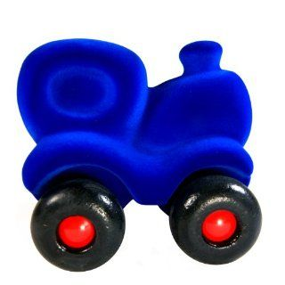 "Rubbabu ""Choo Choo Train"" Blue Natural Rubber Foam Soft Toy Train   Educational Toy For Age 2+ Toys & Games"