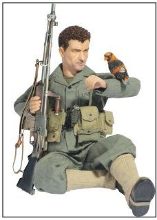 "Dragon Models 1/6 ""Lewis Wilson"" (Private), USMC BAR Gunner 5th Marines 1st Marine Division, Operation Watchtower Guadalcanal 1942 Toys & Games"