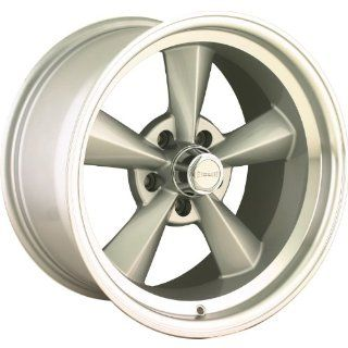 "Ridler 675 Silver Wheel with Machined Lip (15x7""/5x120.65mm) Automotive"