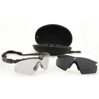 Oakley SI Ballistic M Frame 2.0 Strike Array  Matte Black Frame Grey/Clear Lens 695683