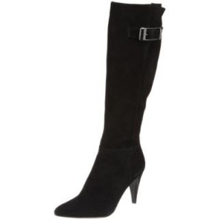 Calvin Klein Women's Logan E7366 Knee High Boot, Black, 5 M US Shoes