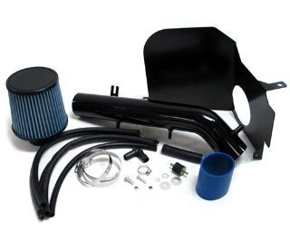 99 04 Toyota Tacoma BLACK Cool Air Intake Kit with Heat Shield 00 01 02 03 Automotive