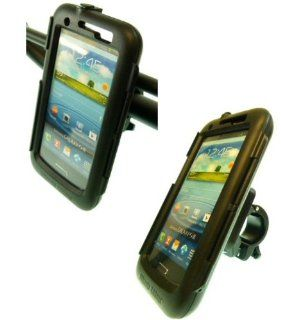 Easy Fit IPX4 Waterproof Tough Case Motorcycle Bike Handlebar Mount Galaxy S3 SPH L710 Sprint Cell Phones & Accessories