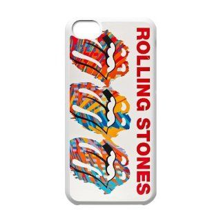 Custom Rolling Stone New Back Cover Case for iPhone 5C CLR718 Cell Phones & Accessories