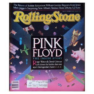Rolling Stone Magazine Nov. 19, 1987 Issue 513 Pink Floyd Cover Books