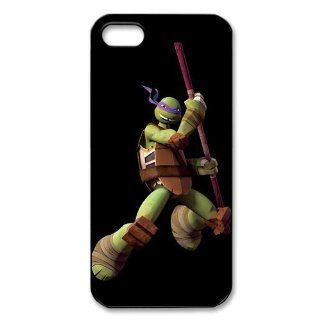Teenage Mutant Ninja Turtles iPhone 5 Case Durable Hard Plastic iPhone 5 Fitted Case Cell Phones & Accessories
