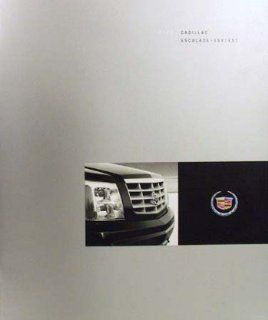 2003 Cadillac Escalade Esv Ext Sales Brochure Literature Advertisement Features Automotive