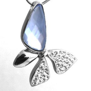 Love Necklace Pendant Sapphire & Cz Diamond Butterfly Pendant Necklaces for Women 316 Stainless Steel Necklaces for Men Charms Fashion Wedding Jewelry Pendants Unique Fashion Jewelry 50044  Baby Teether Toys  Baby