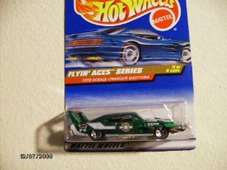Hot Wheels 1970 Dodge Charger Daytona 1998 Flying Aces Series #737 with 5 Spoke Wheels