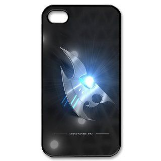 StarCraft Protoss Iphone 4 4S Case Starcraft II Cases Cover Blue Light at abcabcbig store Cell Phones & Accessories