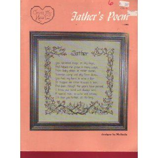 Father's Poem Embroidery Pattern Cross My Heart Books