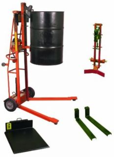 "Wesco Industrial Products 261160 Triple Truck/Drum Attachment Drum Grab, 30"" Width x 70 3/4"" Height x 52 1/4"" Depth, 750 Pound Capacity Hand Trucks"