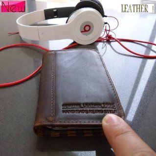 Genuine Real Leather Case Fit Samsung Galaxy S3 Mini  I8190 S 3 Book Wallet Stand Creditcards S 3  P