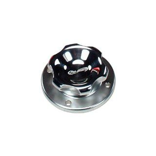"Pro werks C73 739 1 5/8"" Polished Aluminum Fill Cap with Aluminum Weld Bung Automotive"