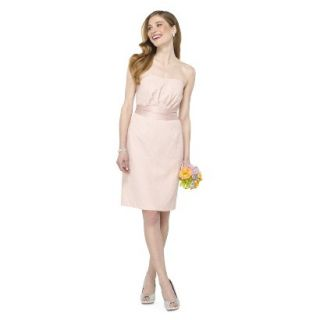 TEVOLIO Womens Lace Strapless Dress   Peach   6