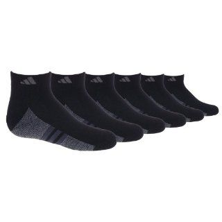 adidas Boys Youth Graphic Medium Low Cut Sock, Pack of 6, White/Black/Aluminum 2, 13 4  Athletic Socks  Sports & Outdoors