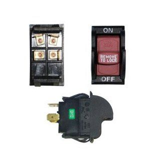 Superior Electric SW7A On Off Toggle Switch   Delta 489105 00, 1343759 (Optional Lock)