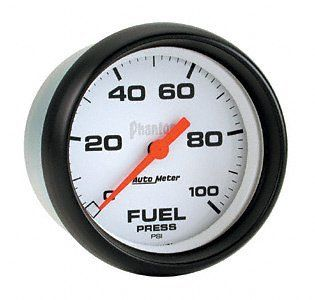 Auto Meter 5763 Phantom Electric Fuel Pressure Gauge Automotive