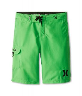 Hurley Kids One Only Boardshort Boys Swimwear (Green)