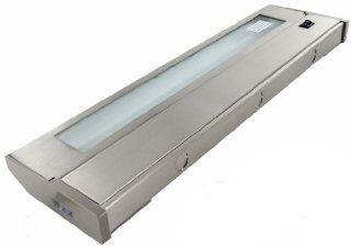 American Lighting 043X 3 BS Hardwired Xenon Under Cabinet Lighting, Brushed Steel, 32 Inch   Under Counter Fixtures