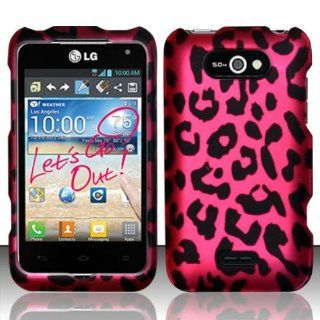 LG Motion 4G MS770 / Optimus Regard LW770 Case (Metro Pcs / Cricket) Rich Leopard Design Hard Cover Protector with Free Car Charger + Gift Box By Tech Accessories Cell Phones & Accessories