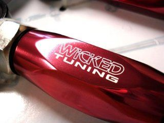 Wicked Spec 3 Honda Accord 03 07, Acura TSX Rear Camber Arms Kit  Red Automotive