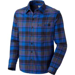 Mountain Hardwear Stretchstone Flannel Shirt   Long Sleeve   Mens