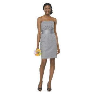TEVOLIO Womens Lace Strapless Dress   Cement   10