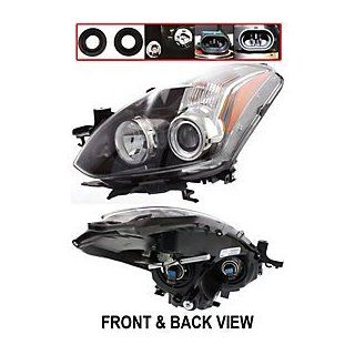 For Nissan ALTIMA 10 11 HEAD LAMP LH, Assembly, w/o HID Lamps, Halogen, Coupe Automotive