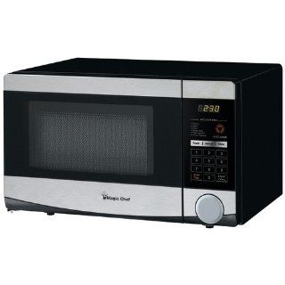 Magic Chef Mcd770st1 .7 Cubic Ft 700 Watt Microwave With Digital Touch (Stainless Steel/Black Cabinet) Kitchen & Dining